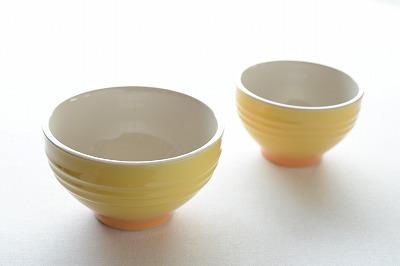 ル・クルーゼ風ライスボール・スープボール(yellow)