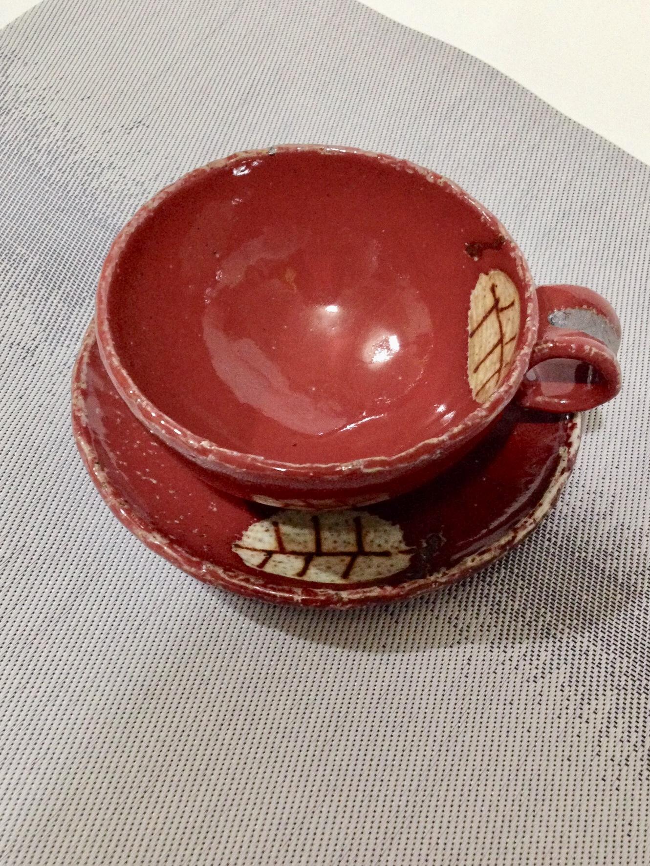 手作りカップ