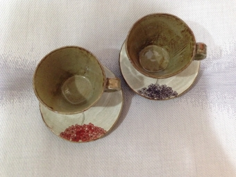 手焼きカップ